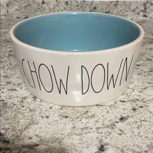 Rae Dunn Large Dog Bowl